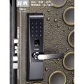 『寰岳五金』FIBRE琺博 經典 電子鎖 FB83J 指紋/密碼/遙控/機械鑰匙/電子鑰匙 智慧型 防盜門鎖