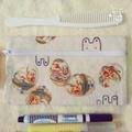 現貨🌋🐰兔子復活節 蝶古巴特 化妝包 筆袋 小物包