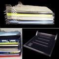 10PCS Clothes Organizer System Closet Drawer Office Desk Laundry Rack Storage File Holder Cabinet