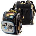 DF童趣館 - 極限運動硬殼護脊減壓兒童雙肩後背書包-共2色
