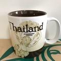 Starbucks 泰國星巴克 典藏ICON 泰國城市杯 16oz 泰國倥舞 國花 阿勃勒 Thailand 印度神話