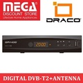 DRACO HDT2-7700 +ANT-900 DIGITAL FULL HD DVB-T2 TV RECEIVER WITH FREE INDOOR ANTENNA