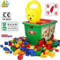 【Playful Toys 頑玩具】180PCS積木桶(積木桶180片 樂高相容 親子互動 桶裝積木 大顆粒積木 台灣製造 積木 兒童玩具 早教益智 )