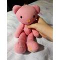 ❤❤禮坊喜餅熊熊RIVON  可愛吊飾娃娃  桃子粉色❤❤
