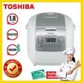 TOSHIBA หม้อหุงข้าวไฟฟ้า หม้อหุงข้าว toshiba RC-18NMF RICE COOKER 1.8L(COMP)