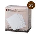 美國Chemex 咖啡濾壺專用濾紙(3∼6人份•方形)三入組