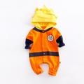 ohmybaby👼嬰兒連身衣 寶寶 長袖連帽包屁衣 悟空造型服 造型衣 哈衣 爬服 秋款