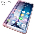 2pcs for VIVO Y71 Screen Protection Tempered Glass 2.5D Glass For vivo y71 Full Protector film - intl