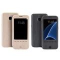 【Oucase】SAMSUNG Galaxy S7 Edge G935F 睿智木紋皮套