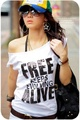 ζFree≠自由ζE2272*時尚前衛亮片裝 白色