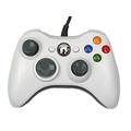 Prodico Xbox 360 Wired Controller Game Controller Joysticks Windows & Xbox 360 Console (White) - intl