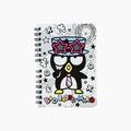 【真愛日本】4901610503553 變裝A6便條本-酷企鵝AAY 三麗鷗 酷企鵝 筆記本 便條紙