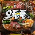 韓國 不倒翁 海鮮烏龍拉麵 -豆咪日韓小舖