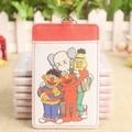 Sesame Street Kaws Bert Elmo Ernie Ezlink Card Holder With Keyring