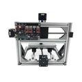 桌上型小型 二合ㄧCNC3018雕刻機 +5w雷射雕刻雙模組雕刻切割機套件