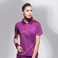 《Slazenger》抗紫外線吸濕排汗專業網球短衫 (543023)