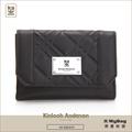 Kinloch Anderson 金安德森 皮夾 英國女爵 黑色 菱格壓紋中夾 女用錢包 KA156106 得意時袋