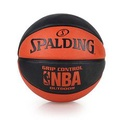【SPALDING】NBA GRIP CONTROL OUTDOOR戶外籃球 黑橘