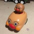 二手麵包超人玩具車/發條玩具車