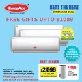 FREE STANDARD INSTALLATION* EuropAce System 3 AirCon with hepa and 3M Airpurifier Filters - 4 tick