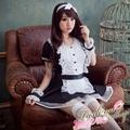 流行E線A462~公主袖洋裝夢幻甜心日系女僕裝