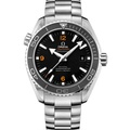 OMEGA 歐米茄 海馬600米黑圈橘字 同軸機芯潛水錶-45.5mm