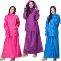【東伸 DongShen】 裙襬搖搖女仕型套裝雨衣 (尺寸:S/M/L/XL) (顏色:桃紅/紫色/水藍)