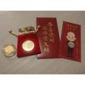 全新 韓國瑜就職紀念金幣+韓國瑜新年紅包