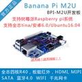banana pi开发板 香蕉派BPI-M2Ultra 四核全志R40安卓5.1主板M2U 套餐2(标配+外壳) 标配
