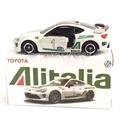 Tomy Tomica Toyota 86 Alitalia義大利航空特別式樣 二改 二次 特別