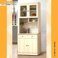 【樂和居】愛沙尼亞白雪杉耐磨2.7尺餐櫃(全組+石面)
