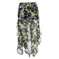 EmuSuo knit summer New style medium-length dress - intl