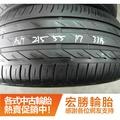 【宏勝輪胎】中古胎 落地胎 二手輪胎 型號:A267.215 55 17 普利司通 T001 8成 4條 含工6000元