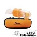 Bravo舒呼樂 呼吸訓練器 訓練躍級款(豔陽橘) 吸吐二合一