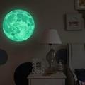30cm Moon Glow in the Dark Wall Stickers Moonlight Decor Waterproof DIY Room