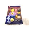 樂高人偶王 正版lego大人偶文具組(紫色)-內含9件文具(全新)