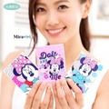 【Disney 】 可愛塑膠彩繪折疊鏡/化妝鏡/隨身鏡-點點風