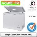 Kadeka Single Door Chest Freezer 300L KCF-300