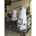 200公升電力式錐形精油蒸餾機、檜木精油提鍊機、植物精油萃取機、香茅油、檜木精油、牛樟精油、茶樹精油、花草精油、白千層精