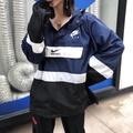 NIKE AIR 海外版 套頭連帽情侶款衝鋒衣