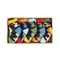 【HELLA 媽咪寶貝】美國 Mud Pie 造型嬰兒襪/童襪五入組_1542096