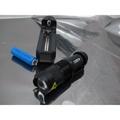 全配(三檔)/強光CREE R2 Q5/變焦戰術強光手電筒 槍燈 最迷你Q5 14500保護版充電電池+座充