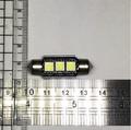LED 車用燈泡 3晶 白光 36m/m