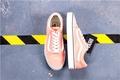 Vans Original Skate Shoes Pink White Discounted WOMEN Old Skool 36