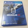 PS4 DRIVECLUB VR 中文版(二手、可議價)