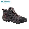 Columbia รองเท้า Hiking ผู้ชาย รุ่น M REDMOND MID WATERPROOF สี BLACK