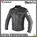 ~任我行騎士部品~Dainese HF D1 Perforated LeatherJacket 復古皮衣 防摔衣 黑白