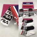 นิว Fila FILA ถุงเท้าถุงเท้าถุงเท้าลำลองสูดลมหายใจ