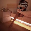 LED人體感應燈條/夜燈 暖光燈帶 1米