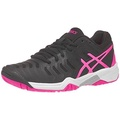 ASICS Kids Girls Gel-Resolution 7 GS Tennis Black/Hot Pink/Silver US Little Kid